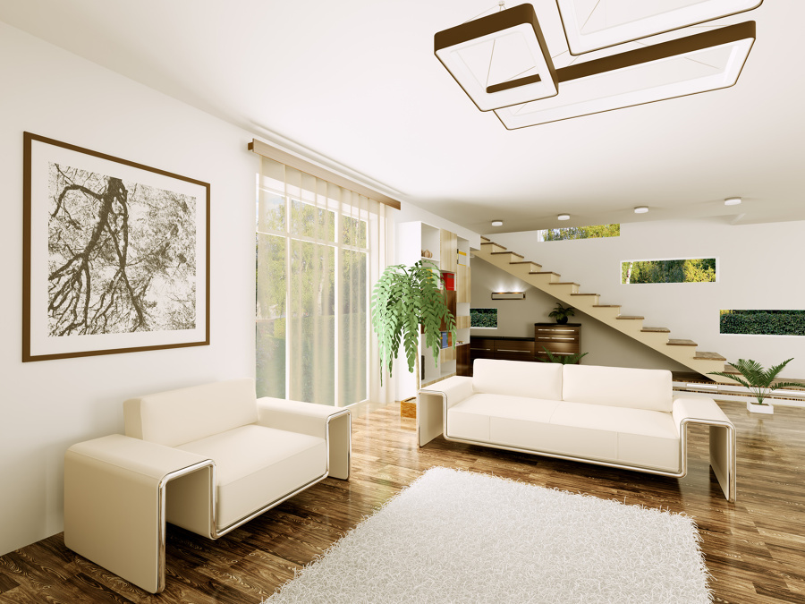 Foto progetto arredo salone di build 4 0 srls 282421 for Progetto arredo