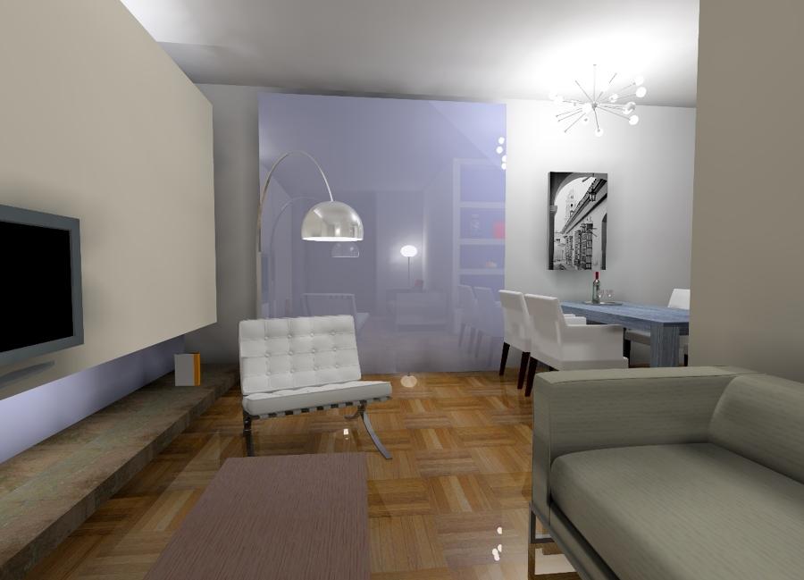 Foto interni roma di massimo valli architetto 50816 - Architetto roma interni ...