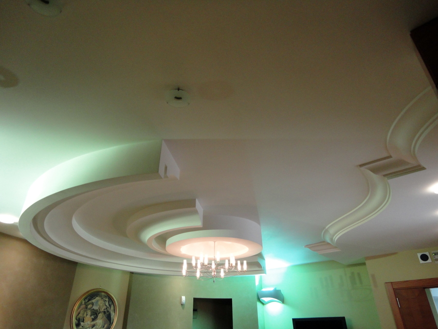 Foto l 39 arte del controsoffitto di l 39 arte del - Controsoffitto camera da letto ...