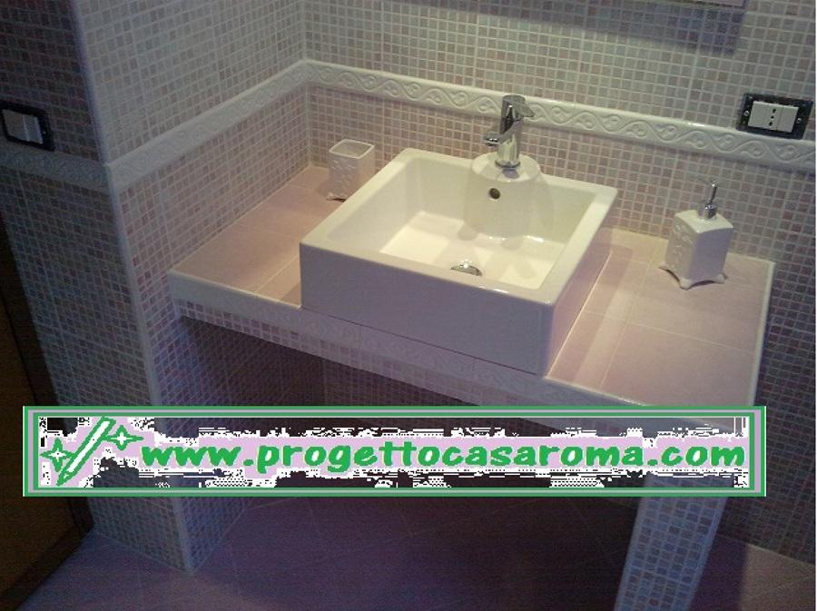 Foto lavabo in muratura di edil restauri 165565 habitissimo - Lavabo bagno muratura ...