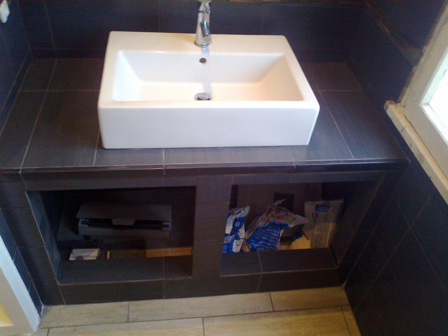 Foto lavabo in muratura di edillux 88461 habitissimo - Bagno in muratura moderno ...
