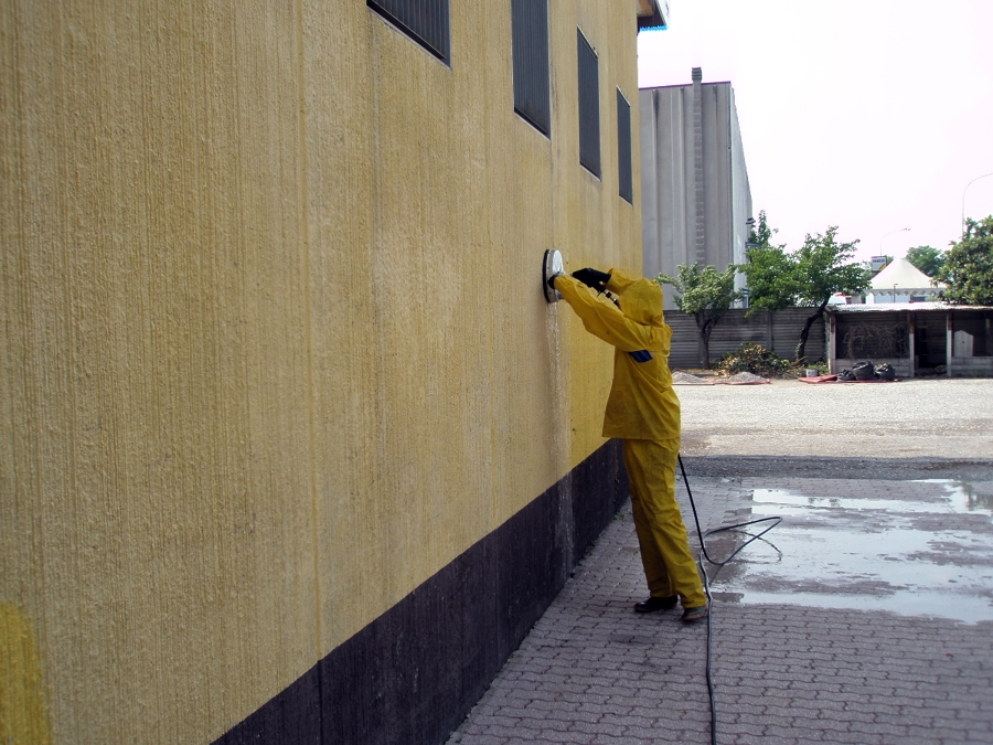 Foto lavaggio intonaco esterno di idrowash 132750 - Tipi di finitura intonaco esterno ...