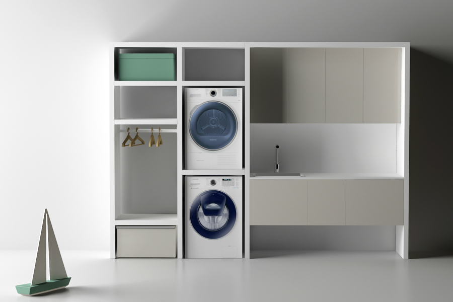 Foto arredo lavanderia di fatto a mano design for Arredo lavanderia