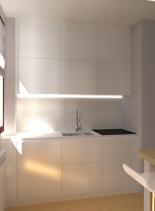 Foto: Cucina Pensili Alti di Studio Architetto Mauro Belingheri ...