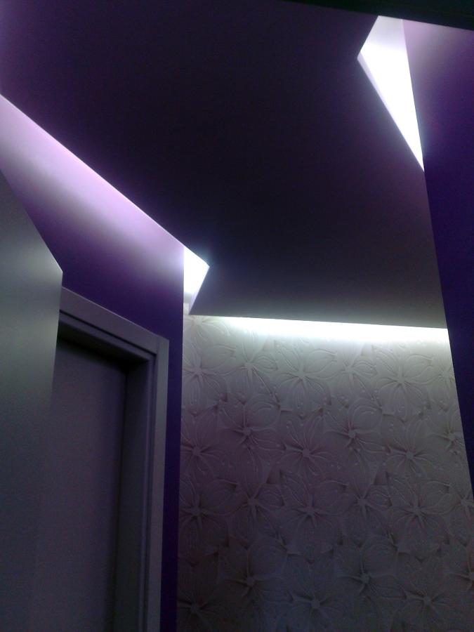 lavoro finito con effetto luce