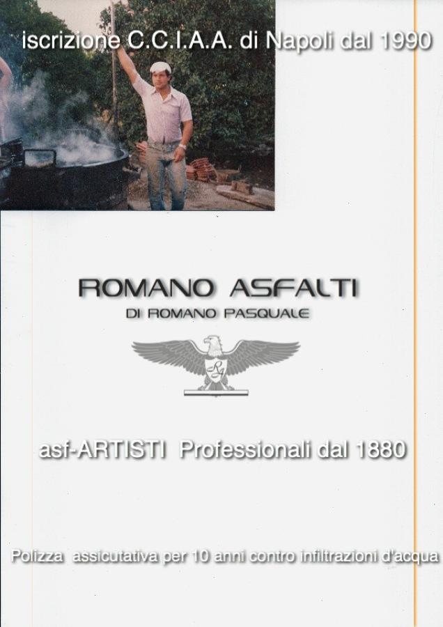 le radici di Romano asfalti