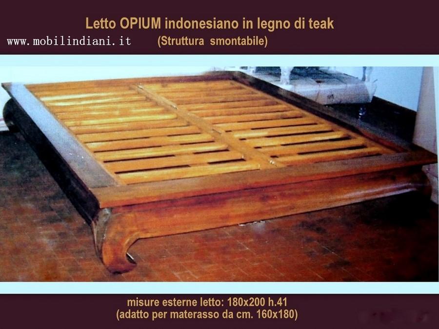 Foto letto etnico opium di mobili etnici 41877 habitissimo - Letto contenitore materasso 180x200 ...
