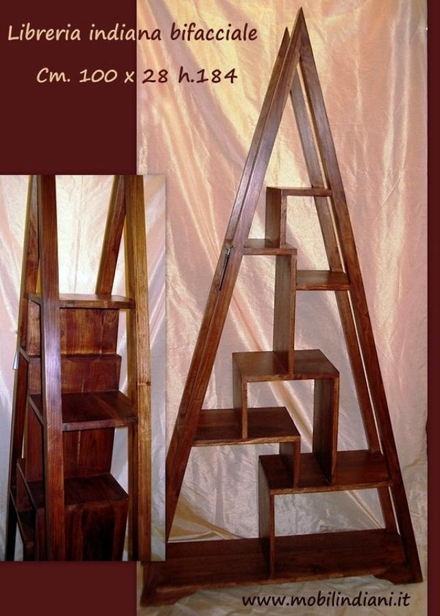 Foto libreria etnica a piramide de mobili etnici 113726 for Mobili librerie torino