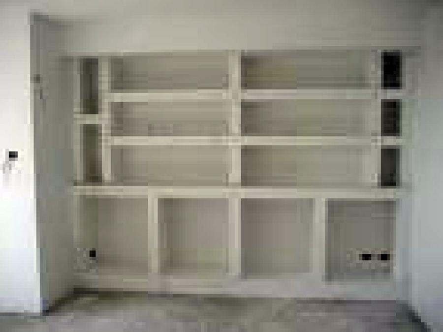 Foto libreria in cartongesso di c gpitturazioni - Mobili in cartongesso foto ...