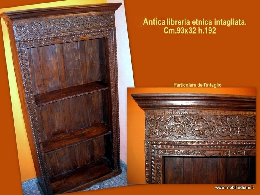 Foto libreria indiana antica di mobili etnici 113728 habitissimo - Mobili etnici prato ...
