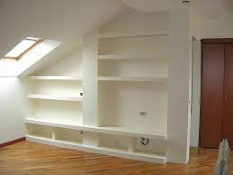 Libreria su misura in cartongesso