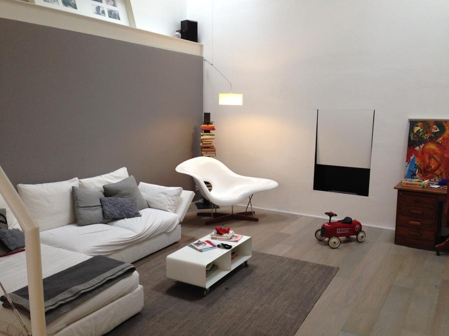 Loft -La zona living-