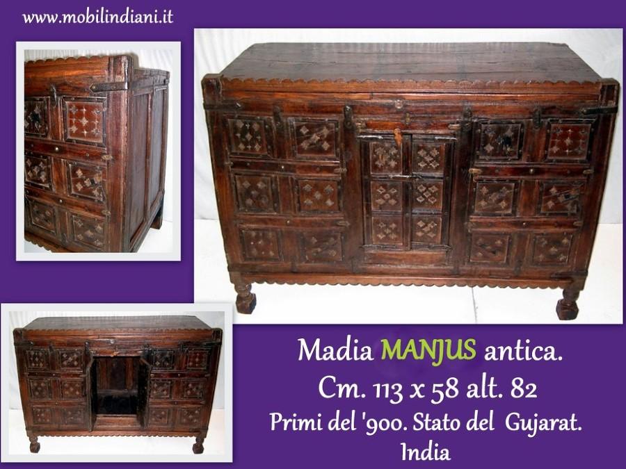Foto madia etnica antica di mobili etnici 113681 habitissimo - Mobili orientali roma ...