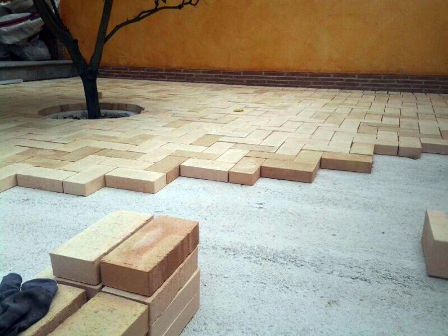 Foto mattonato esterno de matteo dal sasso interior - Mattonato per giardino ...