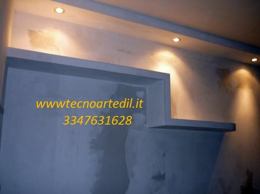 Foto: Mensole In Cartongesso Milano De Tecnoartedil #89362 - Habitissimo