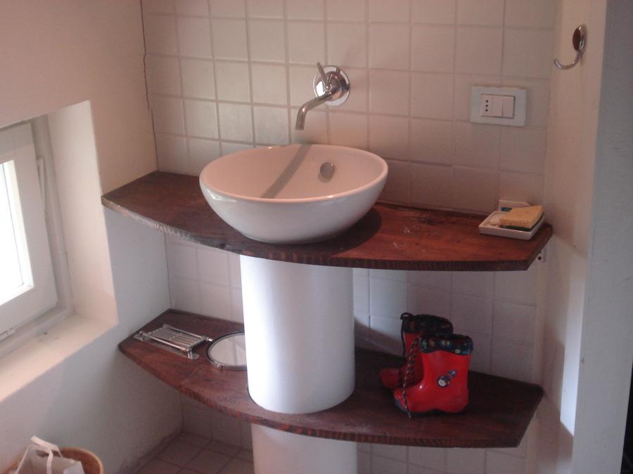Foto mensole per bagno di torriano stefano 166166 - Mensole per bagno ...