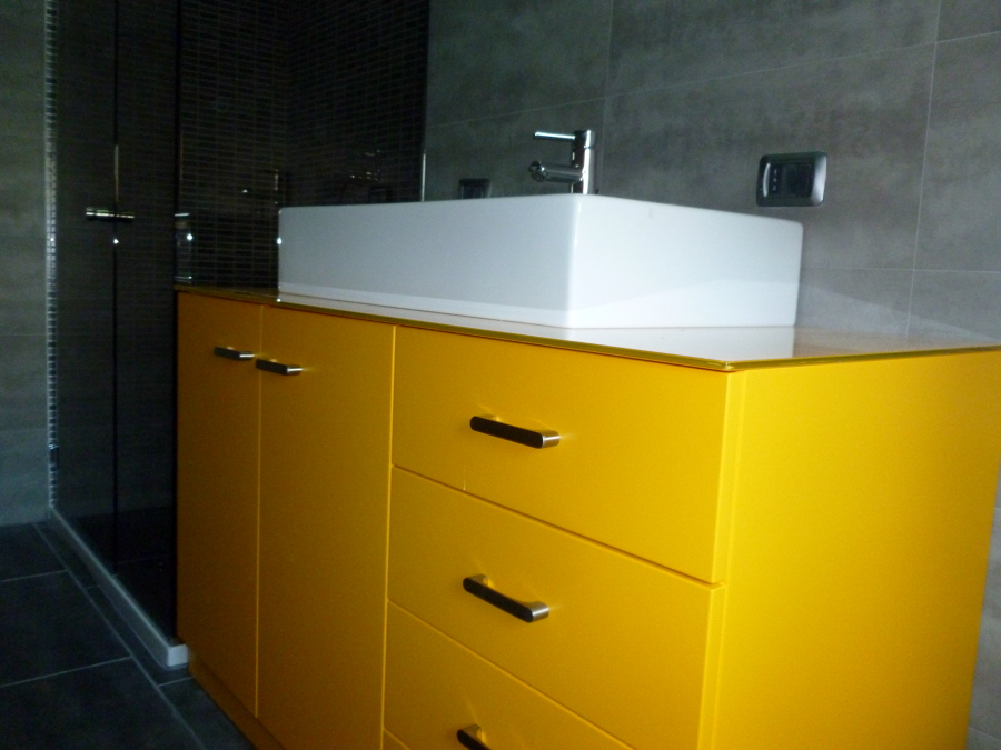 foto mobile bagno su misura de artigiana extra srl ristrutturazione e manutenzione di On mobile bagno su misura