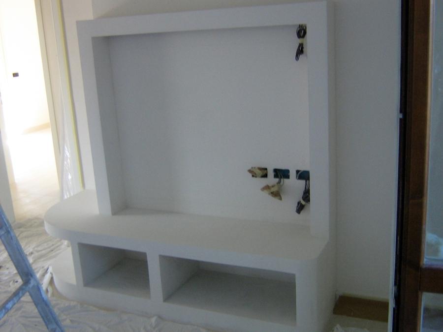 Foto mobile porta tv di sistema di paglia alberto 117222 - Porta tv angolare ...