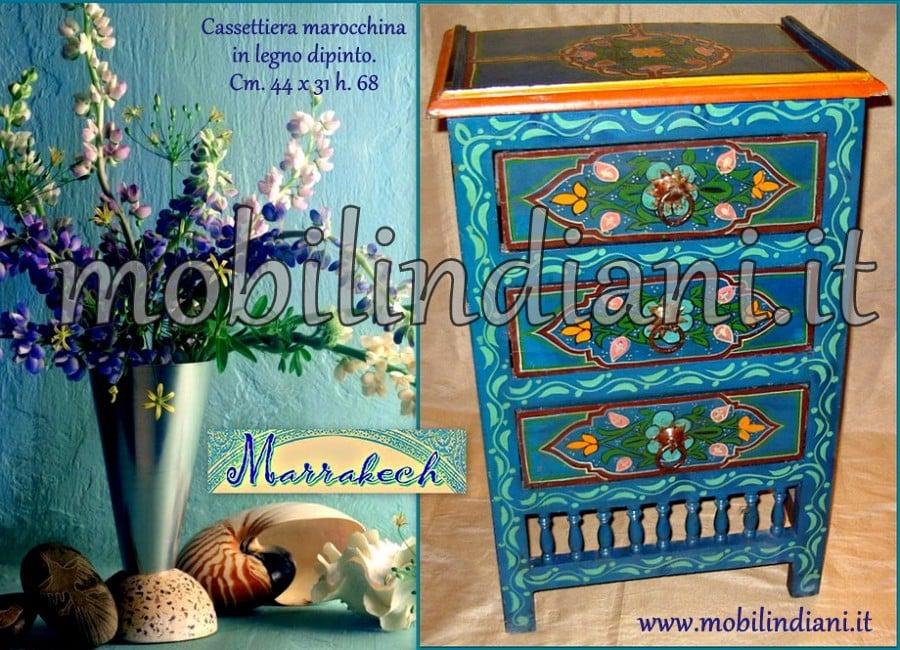 Foto mobiletto etnico marocco di mobili etnici 146007 - Mobili orientali roma ...