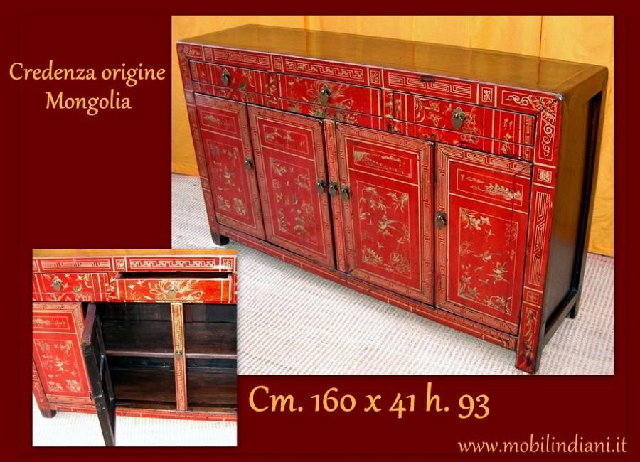 Foto mobili orientali credenza mongola dipinta di mobili etnici 61443 habitissimo - Mobili etnici prato ...