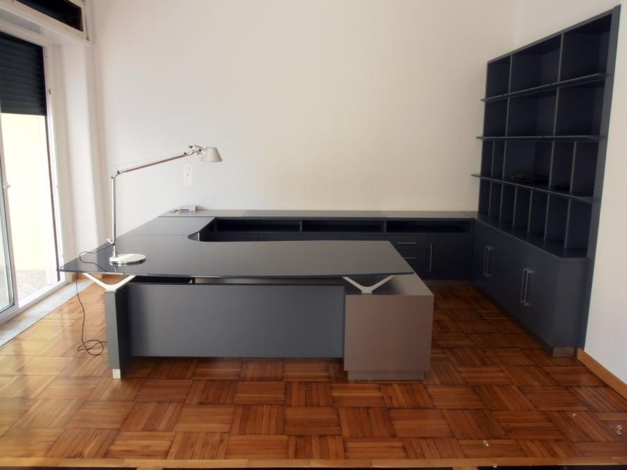 foto: mobili studio legale a napoli di stillegno falegnameria ... - Arredamento Moderno Per Studio Legale