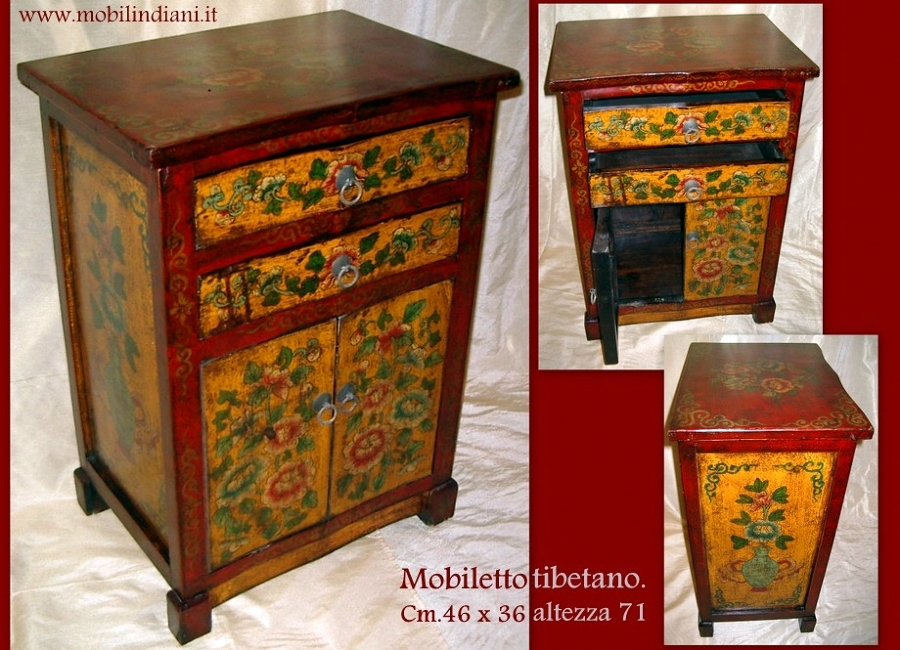 Foto mobili tibetani dipinti de mobili etnici 61428 for Mobili mobili