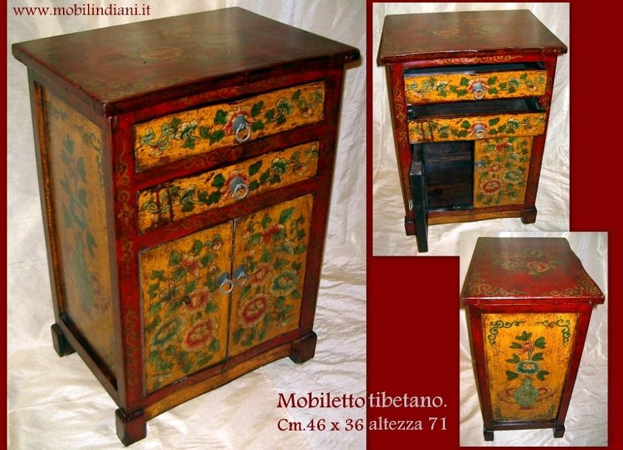 Foto mobili tibetani dipinti di mobili etnici 61428 - Mobili tibetani antichi ...