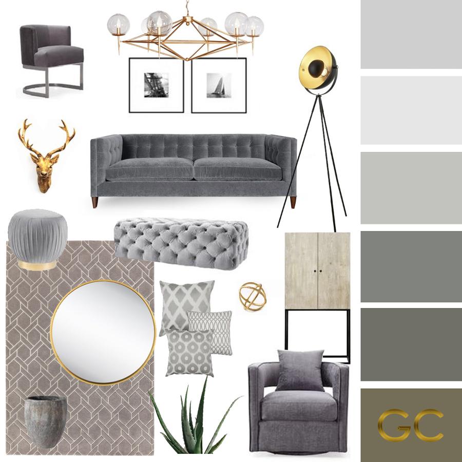 Grey Moodboard