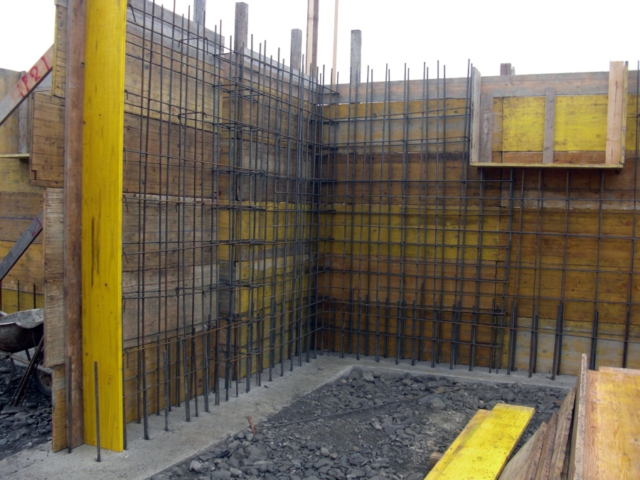Foto muri in cemento armato di matra costruzioni 105081 - Costruzione piscina in cemento armato ...