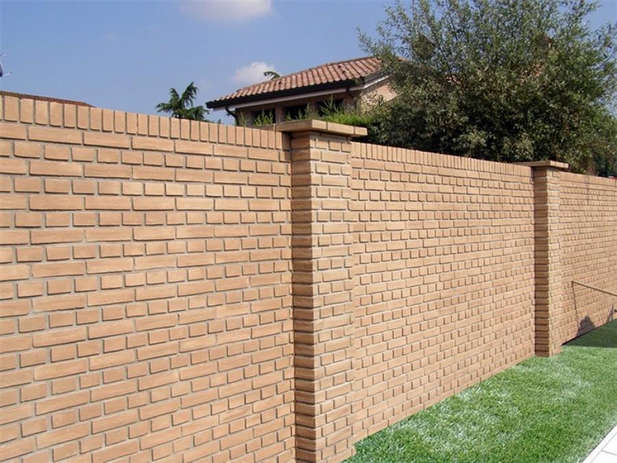 Foto muri pilastri e cornici in mattoni di orlando costruzioni 65879 habitissimo - Cornici finestre in mattoni ...