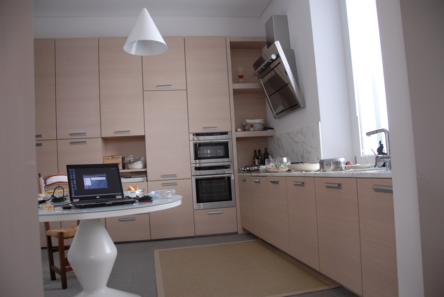 Foto cucina rovere sbiancato di frigerio paolo c sas for Frigerio arredamenti