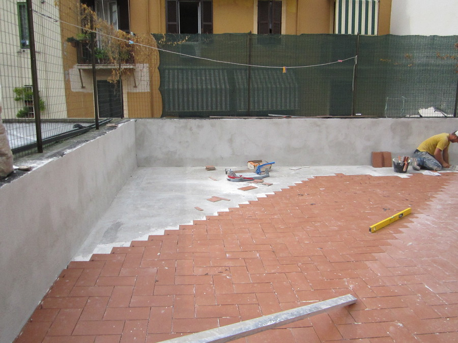 Foto impermeabilizzazione terrazzo e posa pavimento di idrigea s c 163031 habitissimo - Pavimento per terrazzo ...