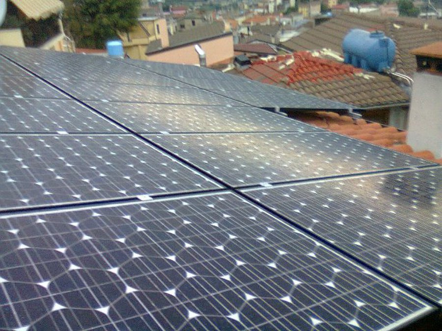 Impianto Fotovoltaico 5 Kwp Buddusò - Sardegna - Olbia / Tempio con moduli Alta Efficienza Panasonic