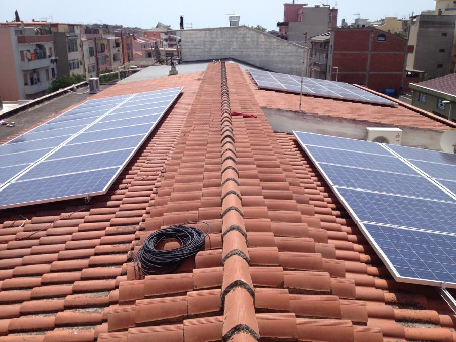 Impianto Fotovoltaico 15 Kwp Quartu S.E. - Cagliari - Sardegna con moduli Solsonica