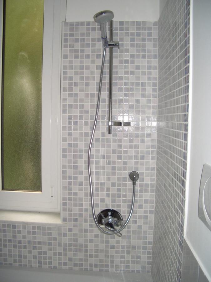 Foto parete in mosaico di architetto tomaso clivio for Parete a mosaico