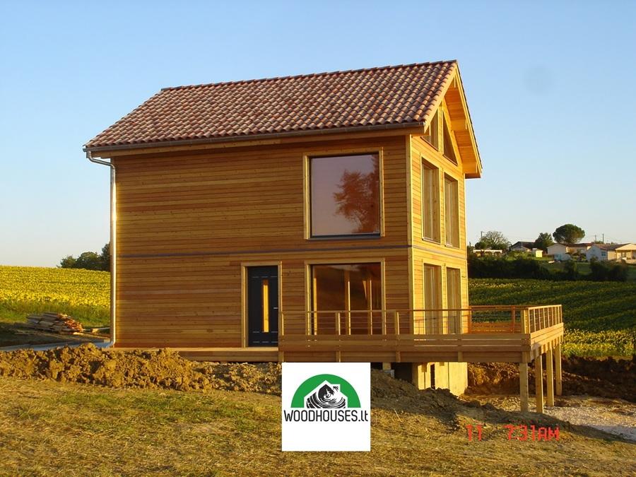 Casa di legno in Francia ``Eric``