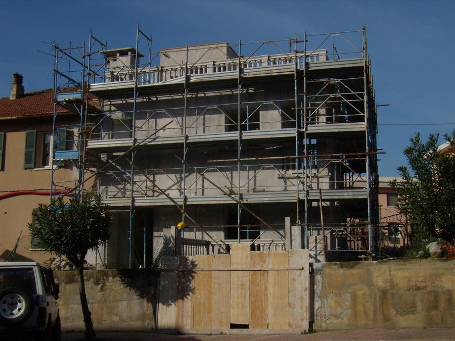 foto nuova costruzione per ampliamento di edilprogest2010