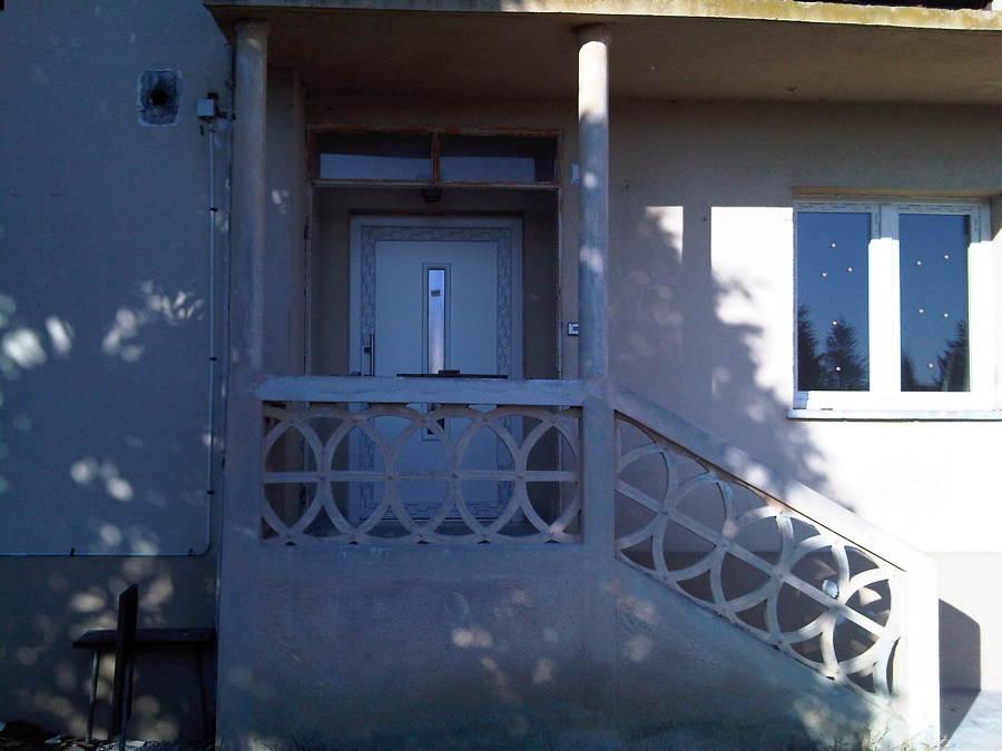 Nuova porta ingresso in PVC - Gorizia