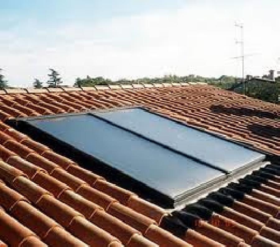 Foto pannelli solari di palestini giuseppe 47401 for Pannelli solari immagini