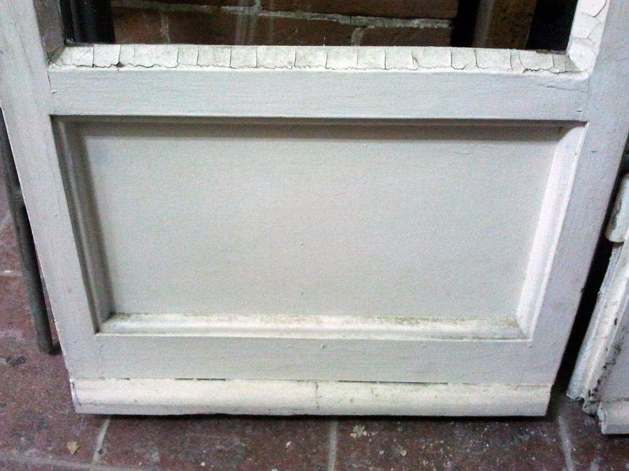 pannello inferiore porta finestra prima