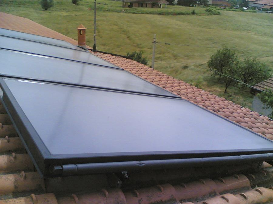 Pannello Solare Termico A Svuotamento : Foto pannello solare rotex a svuotamento de