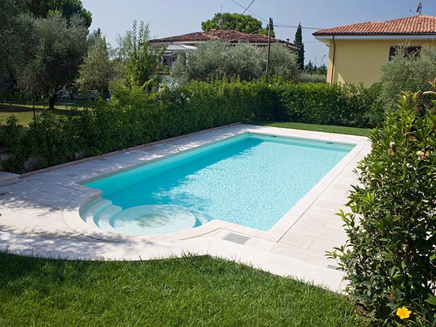 Panoramica piscina privata