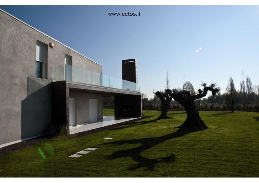 Foto parapetti esterni in vetro per terrazze di cetos - Terrazze in legno da esterno ...