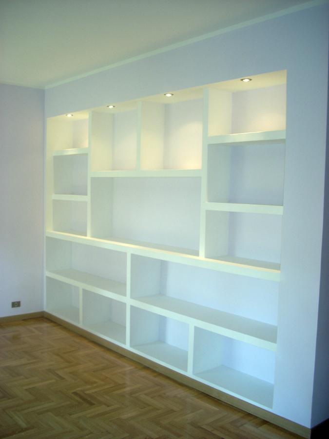 Forum arredamento.it • parete atterezzata/libreria in cartongesso ...
