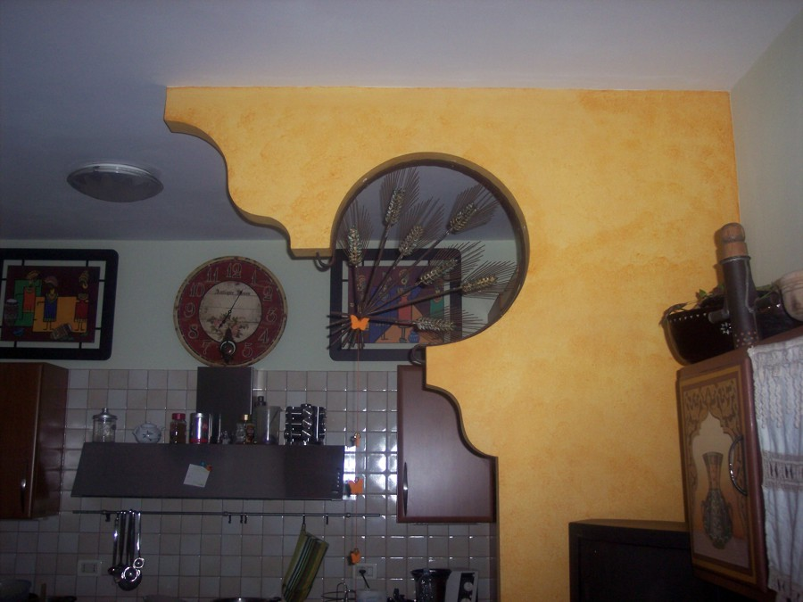 Foto parete divisoria in cartongesso di mengoni ristrutturazioni finiture 156468 habitissimo - Parete divisoria in cartongesso ...