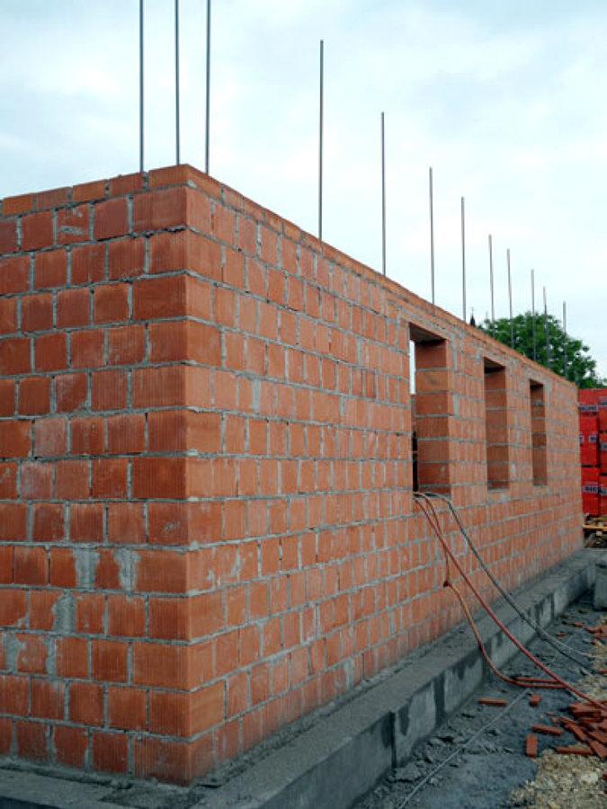 Foto parete perimetrali in termoblocco di idea verde di - Casa in muratura portante ...