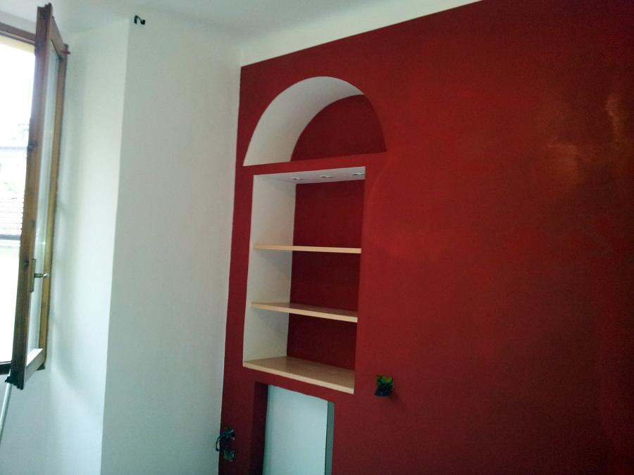 Foto: Parete Rossa De Double M Snc Di Murgia Christian E C #111488 - Habitissimo