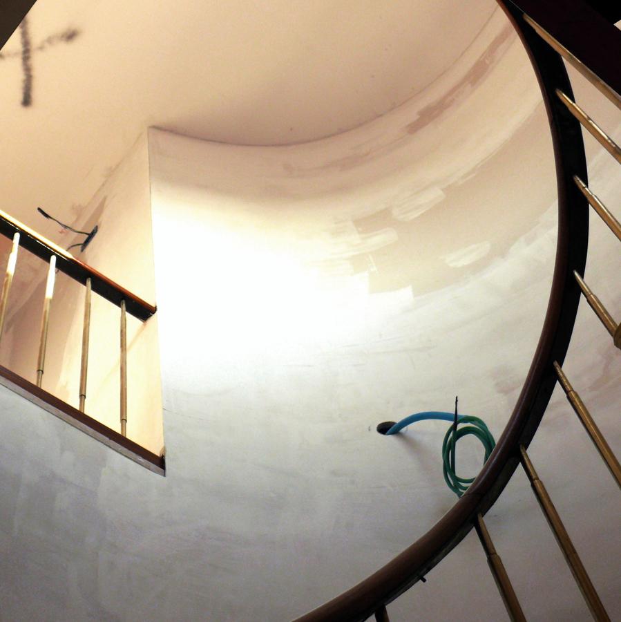 Foto parete scala a chiocciola di davimar impex srl - Scale a chiocciola foto ...