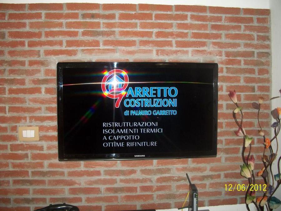 Foto: Parete Tv Soggiorno De Garretto Costruzioni #155621 - Habitissimo