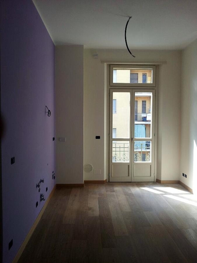 foto parquet rovere e pareti bicolore di double m snc di